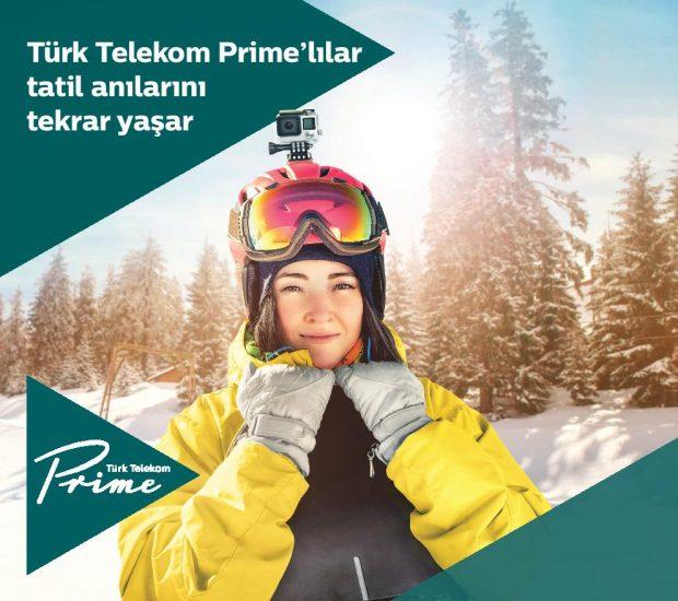 Türk Telekom Prime Kışa Özel Yüzde 50 indirimli DAĞ KEYFİ Sunuyor