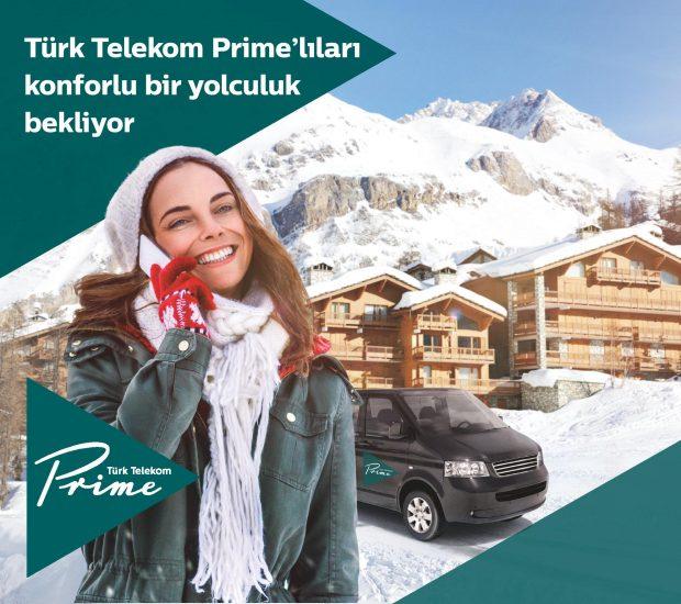 Türk Telekom Prime Kışa Özel Ayrıcalıklarla DAĞ KEYFİ Sunuyor