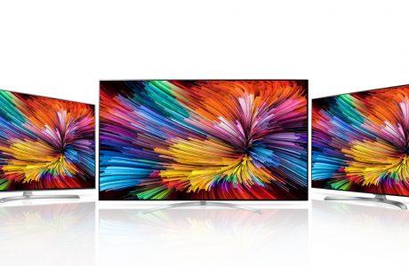 2017 Model Nano Cell Teknolojili LG SUPER UHD TV Serisi