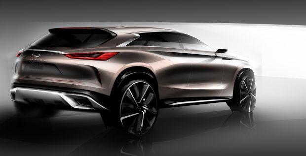 Midi SUV INFINITI QX50 Concept, VC-Turbo Motor