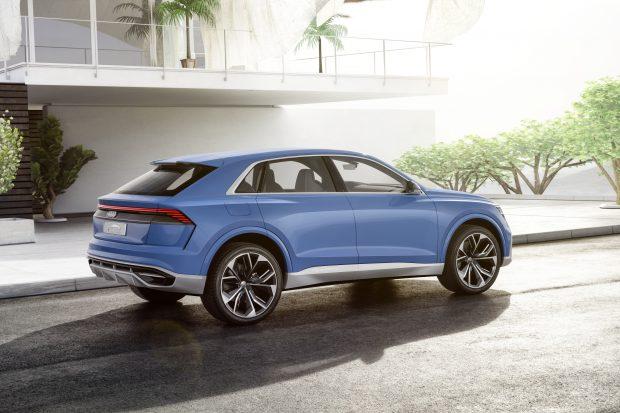 2018 Audi Q8 Konsept, Büyük Coupe SUV, 442 HP