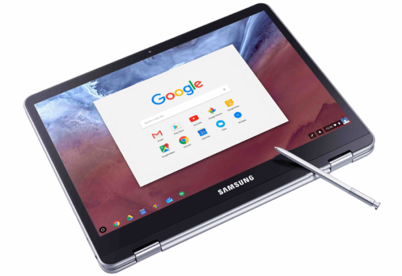 Stylus ve Android Destekli Samsung Chromebook Plus ve Pro