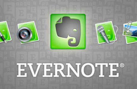 Evernote 8.0iOS için Güncellendi, Yeni Kullanıcı Arayüzü