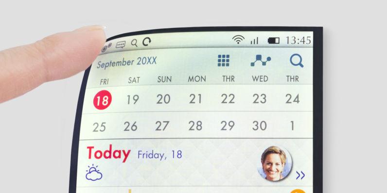 Japonlar, Full Active Flex LCD Ekran Geliştirdi, LCD OLED Savaşı Kızıştı