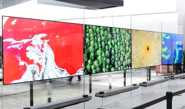 2017 LG OLED TV W Serisi Modelleri ve Özellikleri