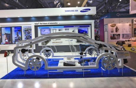 Samsung EV Pil, 20 Dakika Şarj ile 500 Km Mesafe Sunuyor
