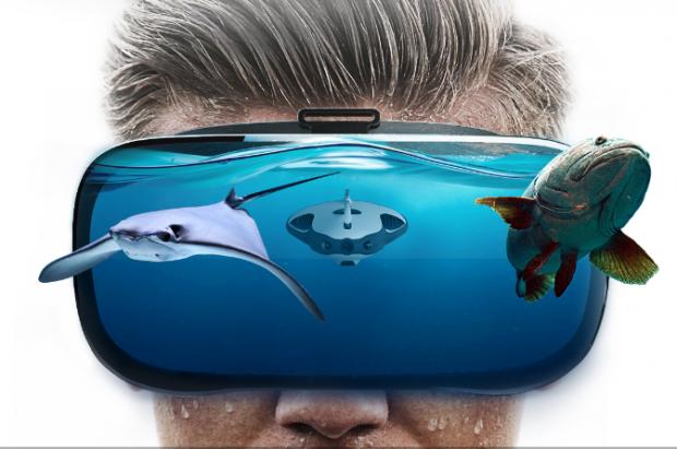 PowerRay Sualtı Drone ile Balıklarların Hiç Şansı Yok, 4K Kayıtta Cabası