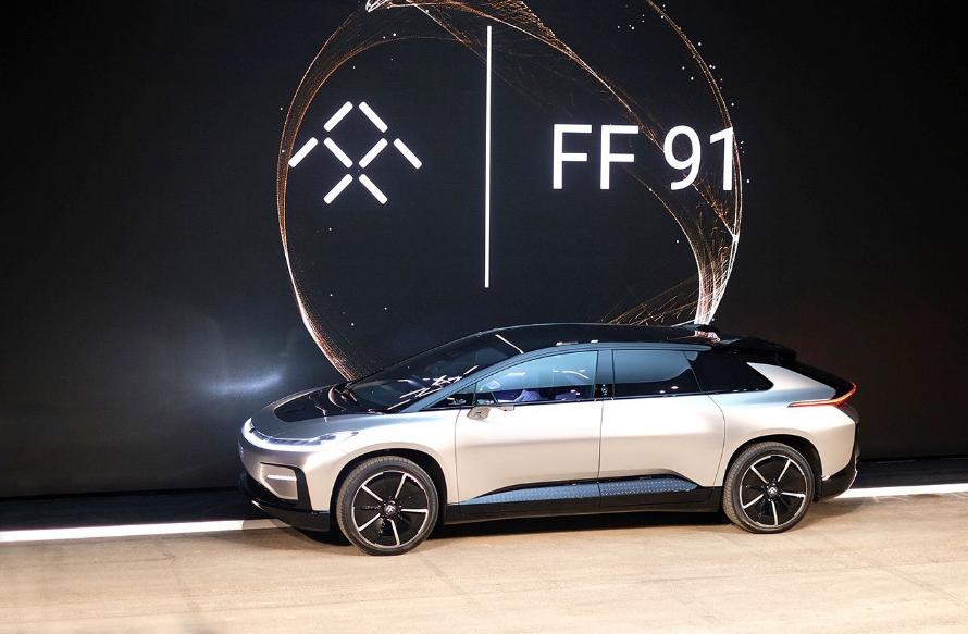 Faraday Future FF91 SUV Modelini Tanıttı, 0-100 km Sadece 2.39 sn.