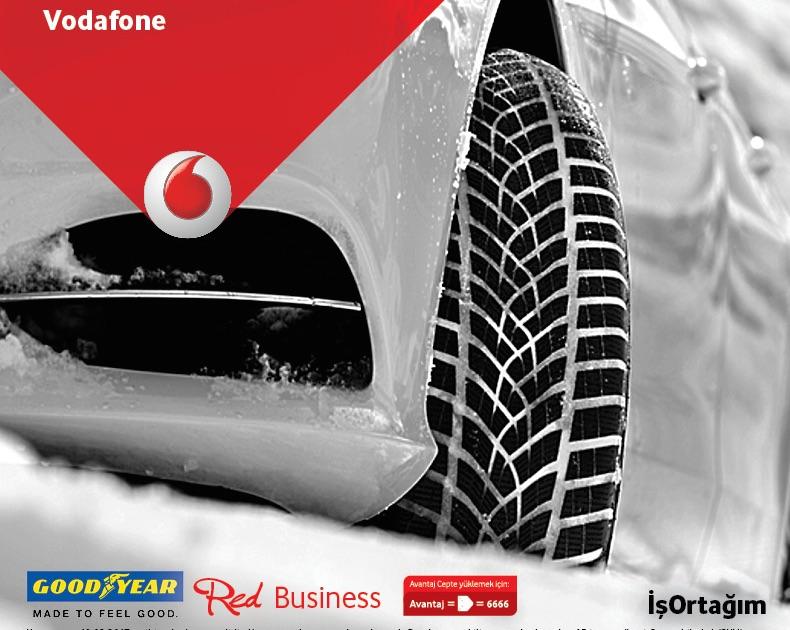 Goodyear Vodafone Red Business Kampanyası Uzatıldı, 200 TL İndirim