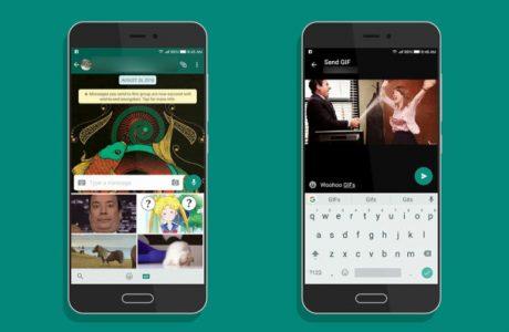 WhatsApp Android GIF Arama ve Gönderme Özelliği'ne Kavuşuyor