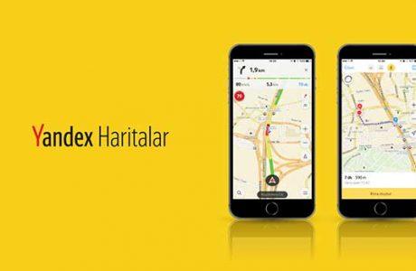 Yandex Haritalar'da Güncelleme