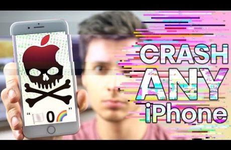 iPhone Kilitleyen Mesaj, iOS 10 Yüklü iPhone Tek Mesajla Kilitleniyor!