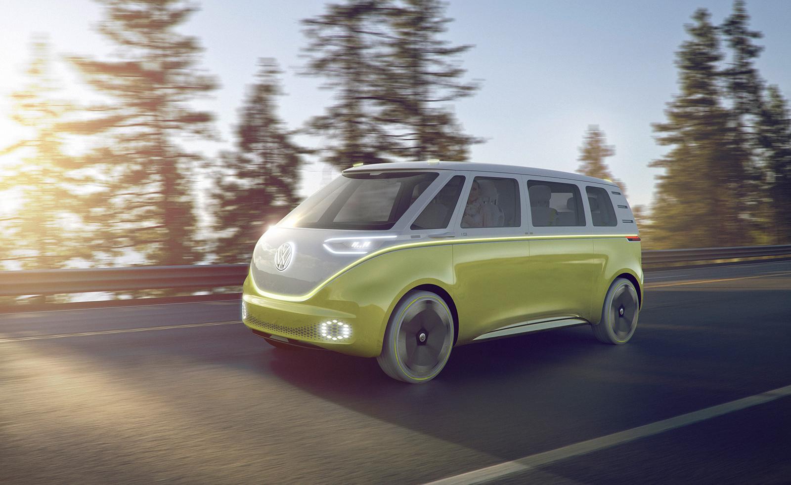 Volkswagen I.D. Buzz Konsept Elektrikli MikroBüs