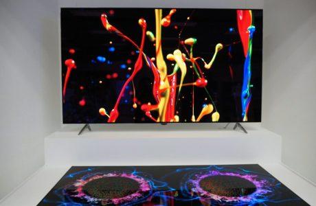 LG 65-inç OLED TV Ekranının içine Hoparlör Entegre Etti