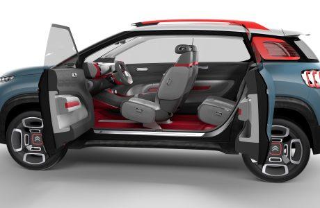 Yeni Kompakt SUV Citroen C-AIRCROSS Konsept!