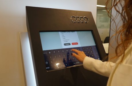 Audi Self Reception, Audi Yetkili Servislerinde Yeni Dönem