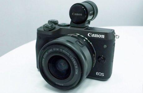 Canon EOS M6 ile Aynasız Fotoğraf Makinesi Serisini Genişletiyor