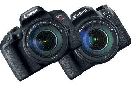 Canon'dan iki Yarı Profesyonel Kamera, EOS 77D ve Rebel T7i