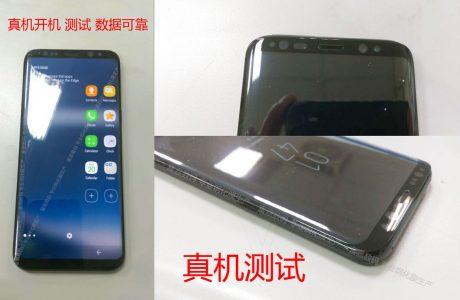 İlk Çalışan Samsung Galaxy S8 Görüntüsü Ortaya Çıktı, Ana Ekran Göründü!