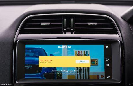 Jaguar ve Shell, ilk Araç içi Nakitsiz Yakıt Ödeme Sistemi'ni Duyurdu