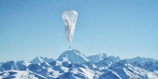 Google'ın Balonla Internet Hizmeti Gerçekleşmeye 100 Kat Daha Yakın