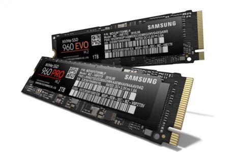 Samsung 960 PRO ve 960 EVO SSD'ler Türkiye'de Satışta