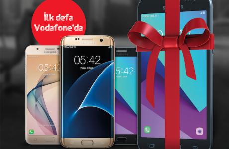 Vodafone'dan 3 Samsung Akıllı Telefon Alana SAMSUNG J2 Hediye Kampanyası