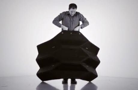 Ultra Taşınabilir Mermiyi Durdurabilen Origami Kalkanı