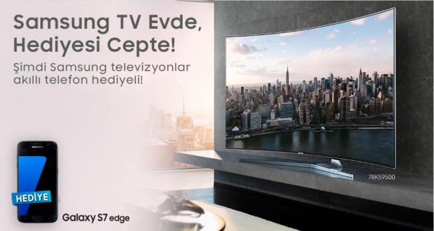 Samsung TV Alana Telefon Hediye! Hangi Televizyona Hangi Cep Telefonu!