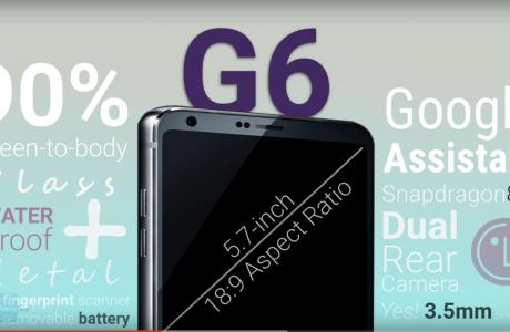 LG G6 FullVision Ekranı ile Üstün Rahatlık ve Yaratıcılık Sunuyor