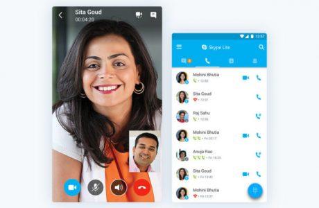 Bağlantı Hızı Düşük Bölgeler için Microsoft Skype Lite Sürümü'nü Duyurdu