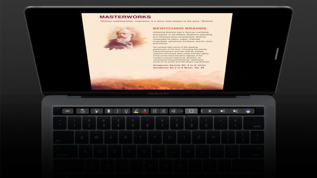 Microsoft Office for Mac Touch Bar Desteği