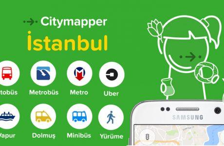 Citymapper istanbul, Tüm Ulaşım Araçları Tek Uygulamada