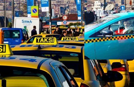 İstanbul'da Turkuaz Taksi Dönemi, Rengi de Fiyatı da Farklı Olacak!