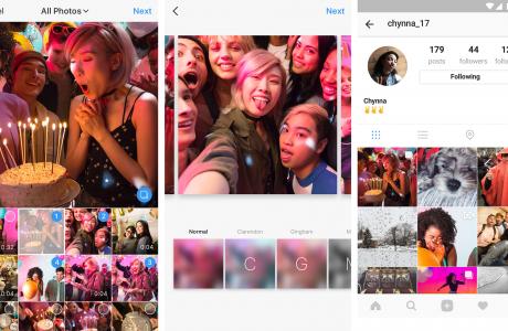 Instagram'da Atlıkarınca Tarzı Fotoğraf Paylaşımı Özelliği