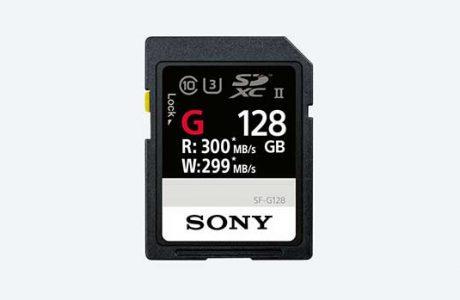 Sony Dünyanın En Hızlı SD Kartı SF-G'yi Baharda Piyasaya Sunuyor