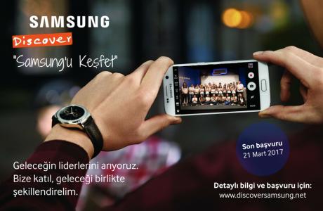 Discover Samsung 2017 Genç Yetenek İşe Alım Programı Başladı