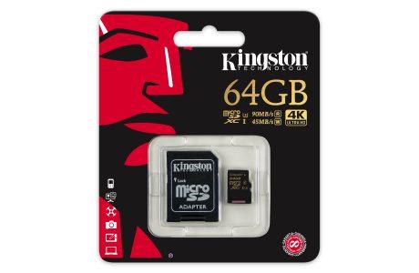 Yeni Kingston Gold Serisi, Aksiyon Kameraları ve Drone'lar için Yeni microSD Kart