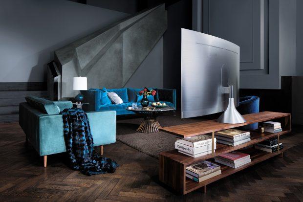 Yeni Samsung QLED TV stand