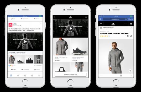 Facebook Collections, Ürün Odaklı Reklam Formatı Kullanıma Sunuldu