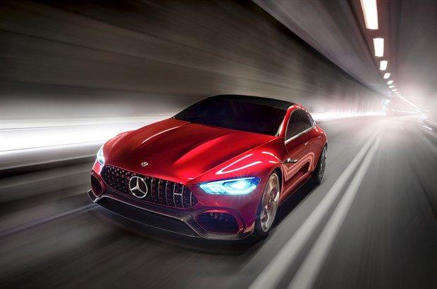 805 Beygir Mercedes AMG GT Concept, Hybrid Otomobillerin Geleceği 22