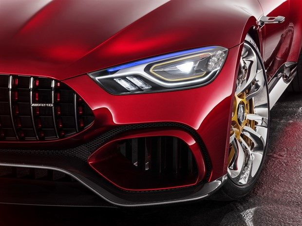805 Beygir Mercedes AMG GT Concept, Hybrid Otomobillerin Geleceği!