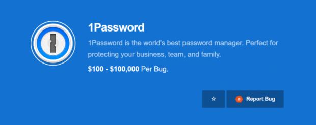1Password Açık Bulma Ödülü 100 Bin Dolara Yükseldi