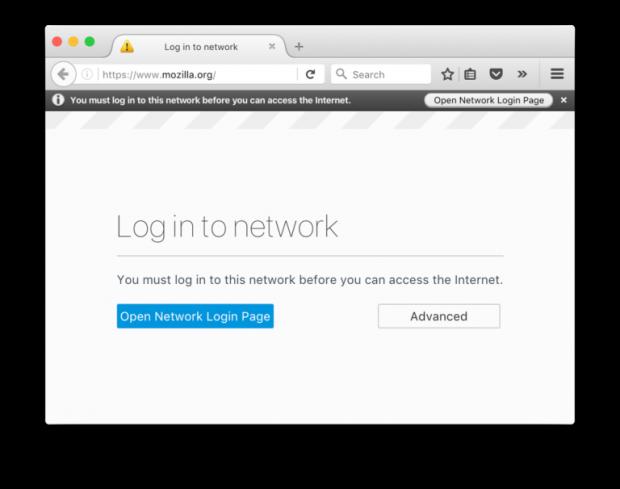 Mozilla Login