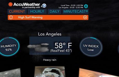 AccuWeather VR Uygulaması, Hava Tahminlerinde Sanal Gerçeklik