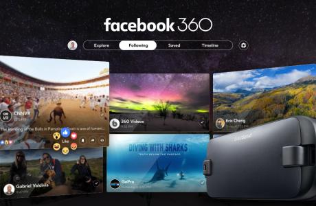 Facebook ilk Gerçek VR Uygulaması Facebook 360'ı Duyurdu