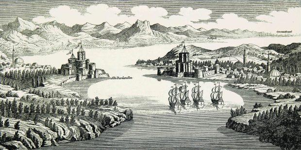 Gelibolu Boğazının 138 yıl Önceki Görüntüsü