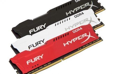 Tak Çalıştır Özellikli Yeni HyperX FURY DDR4 Bellekler Satışa Çıkıyor