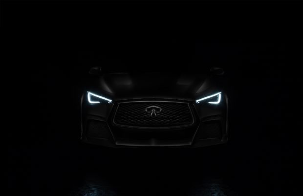 Yeni INFINITI Q60 Project Black S 2017