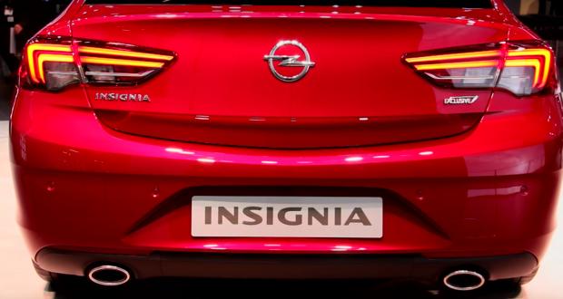 Yeni Insignia Grand Sport Arka Görünüş